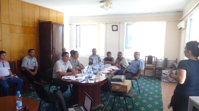 World Bank Project PO 7172238 - Social Accountability in Water Resource Management in Uzbekistan