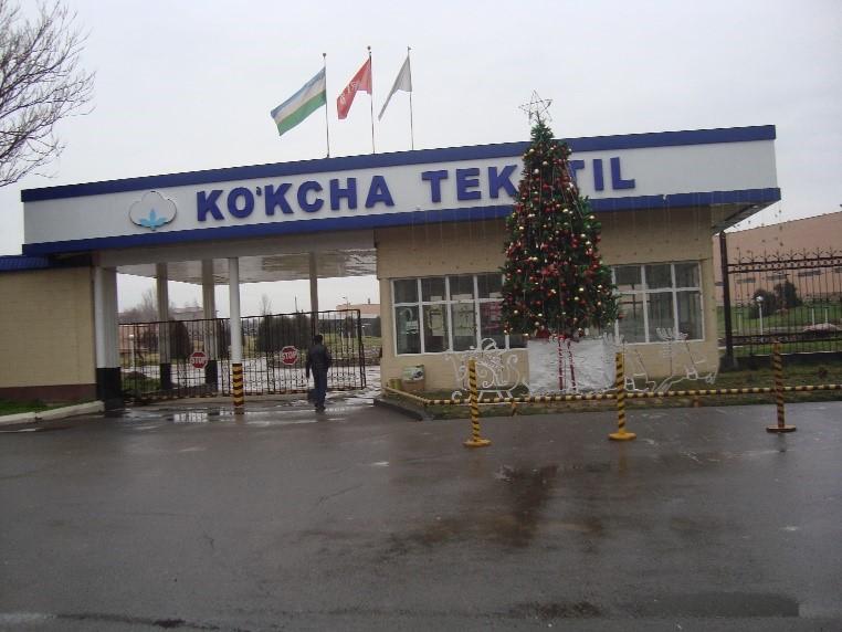 Ko'kcha textile Modernization Project